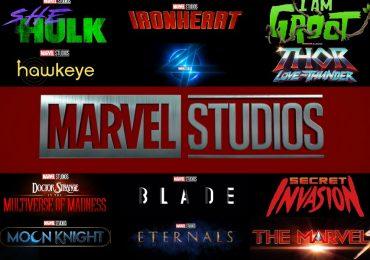 ¿Cuántos proyectos está desarrollando Marvel Studios?
