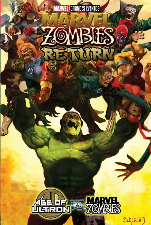 Marvel Grandes Eventos – Marvel Zombies Return / Age of Ultron vs Marvel Zombies