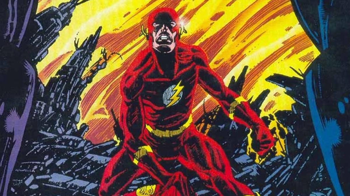 La muerte de The Flash en Crisis on Infinite Earths