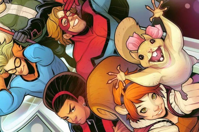 Así lucía Squirrel Girl para la serie cancelada New Warriors