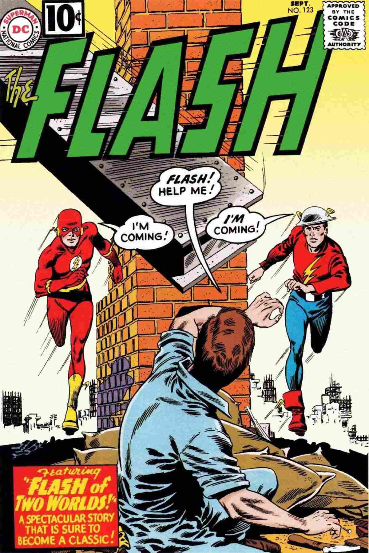 The Flash 123: el origen del multiverso DC