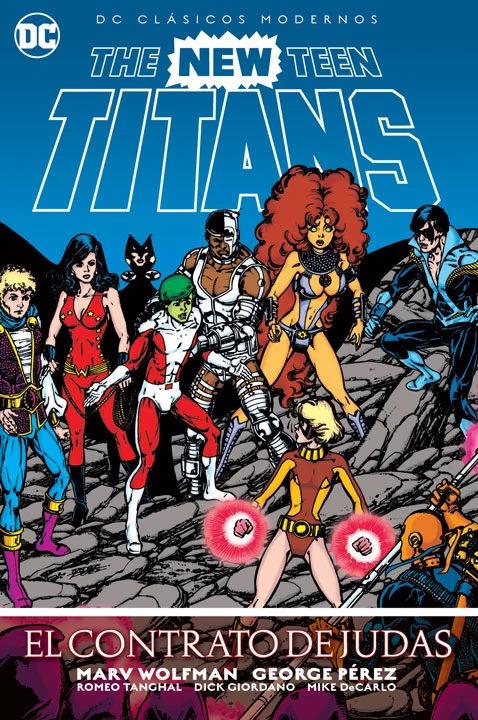 The New Teen Titans: El Contrato de Judas