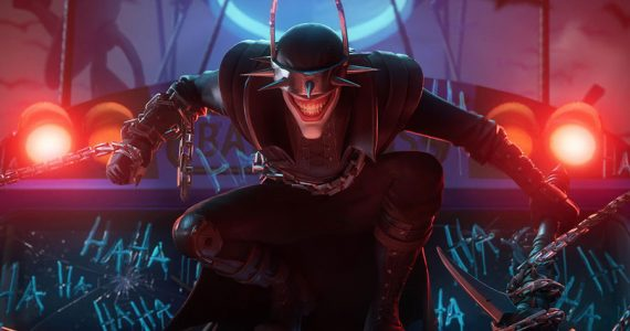 Así luce el skin de Batman Que Ríe en Batman/Fortnite: Fundación
