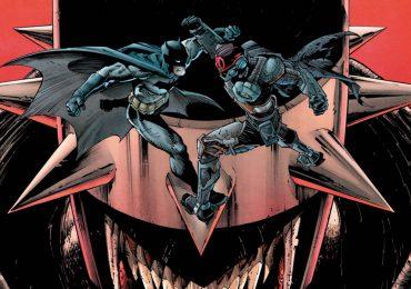 Llega Batman/Fortnite: Fundación #1 con el atuendo de Batman Que Ríe
