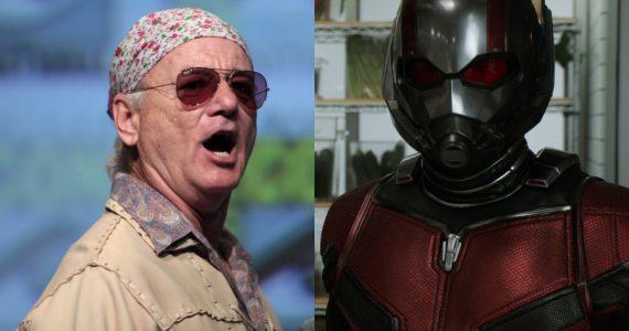 ¡Confirmado! Bill Murray será parte de Ant-Man and the Wasp: Quantumania