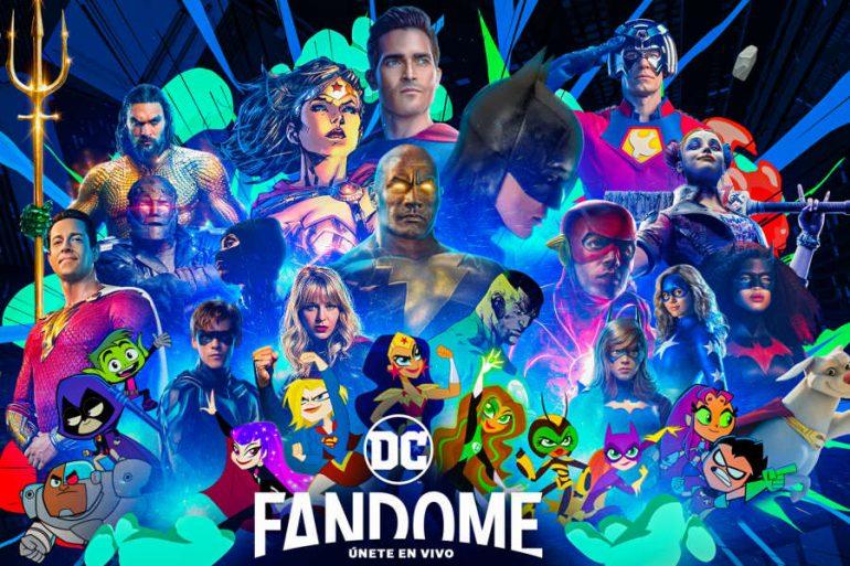 ¡Descubre la lista de invitados a la DC FanDome 2021!