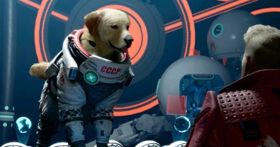 Conoce a Cosmo, el perro espacial dentro del videojuego Guardians of the Galaxy