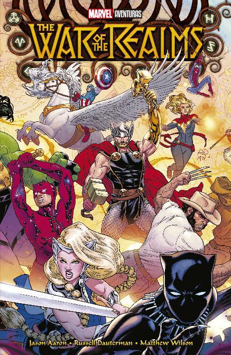 Marvel Aventuras The War of the Realms SMASH Tienda de Comics