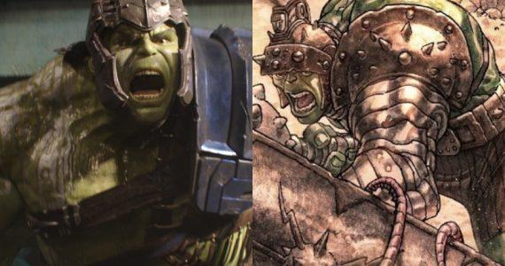 5 elementos que Thor Ragnarok tomó de Planeta Hulk