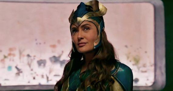 Salma Hayek describe a los personajes de Eternals, la nueva película de Marvel