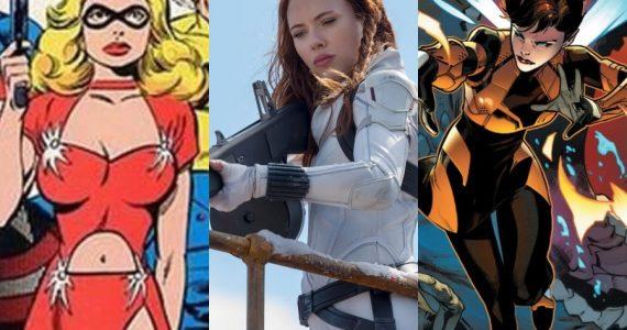 Scarlett Johansson buscó interpretar a otros dos personajes de Marvel antes de Black Widow
