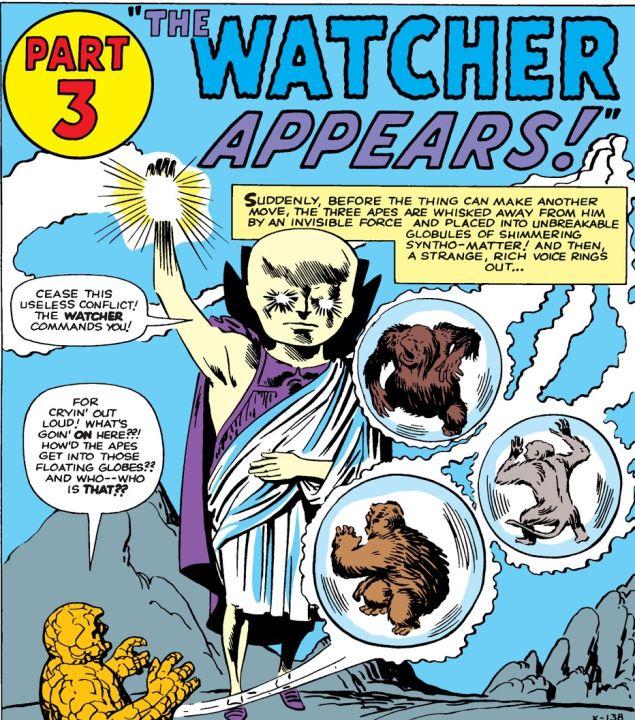 Cuando Uatu The Watcher hace más que vigilar